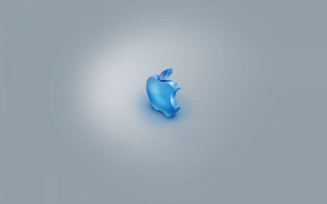 Blue Apple wallpaper