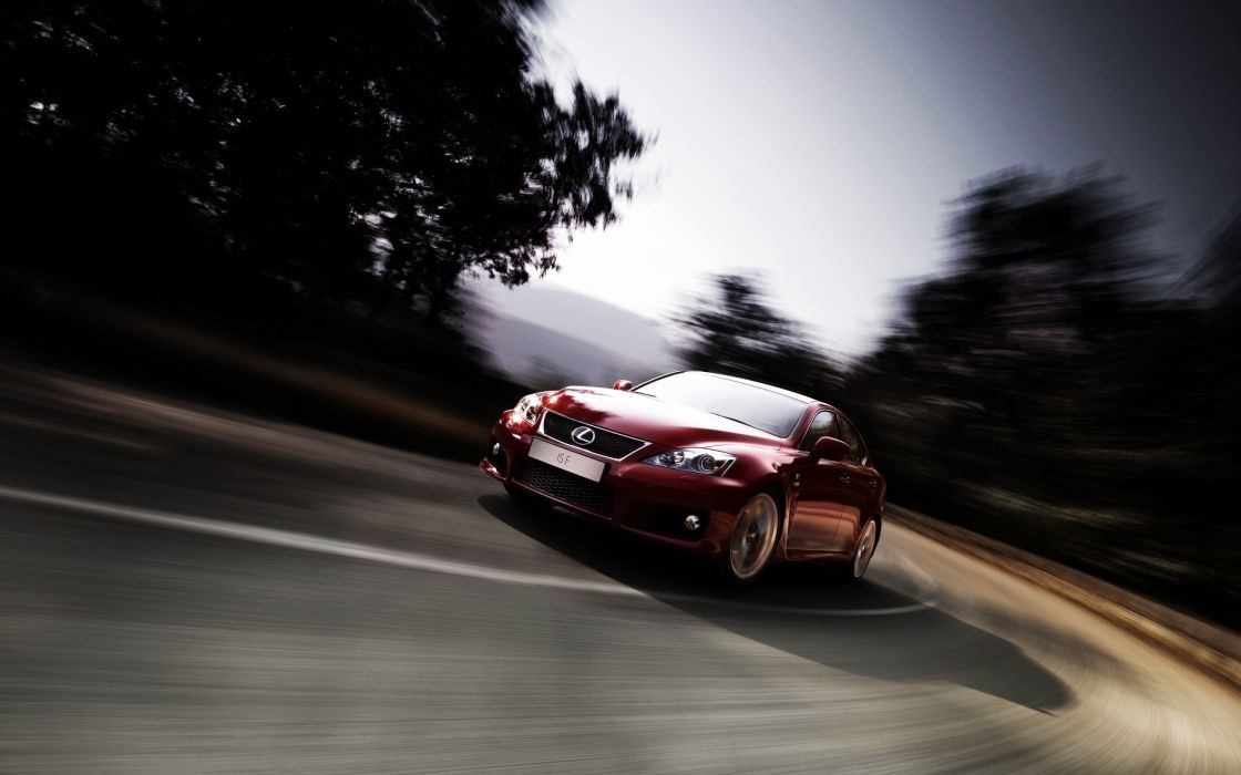 Lexus Isf 2010 wallpaper