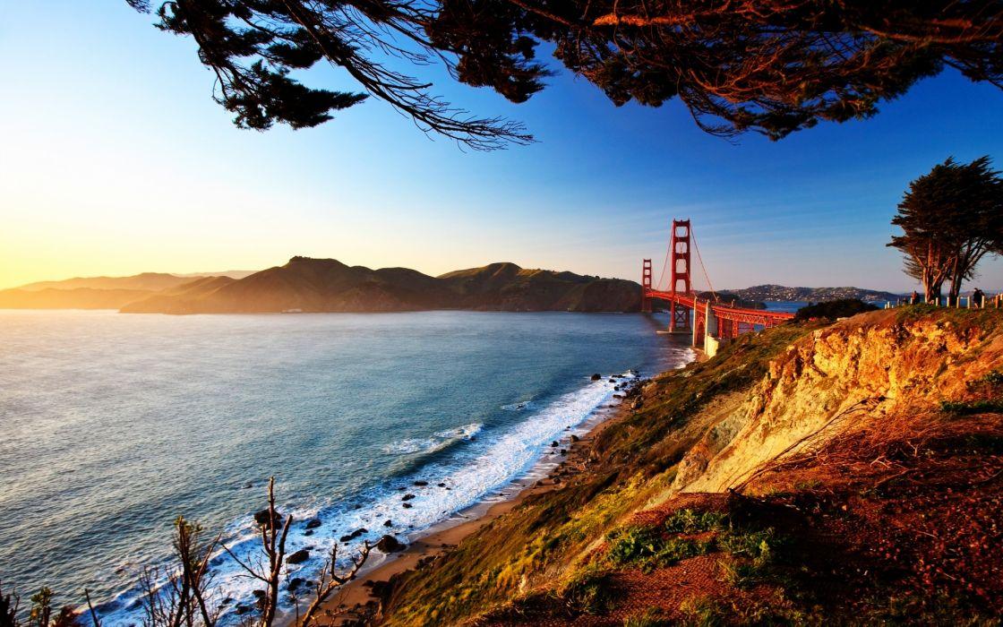 San Francisco Bridge View wallpaper