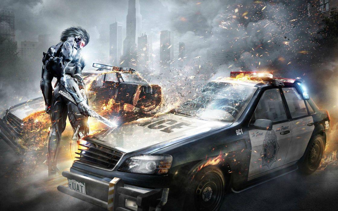 2013 Metal Gear Rising Revengeance wallpaper
