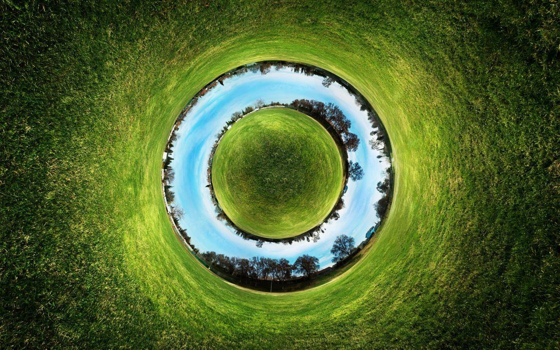 Circle of World wallpaper