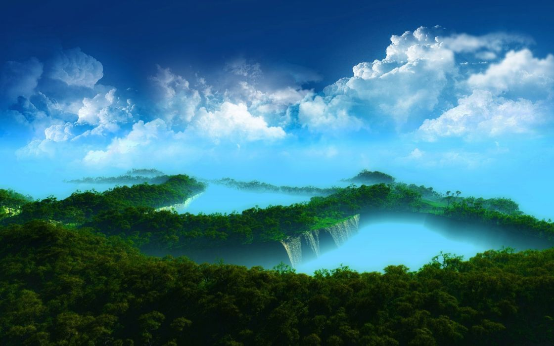 Amazing Forest Scenary wallpaper
