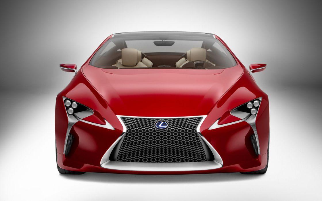Lexus Lf Lc Sport Coupe Concept wallpaper