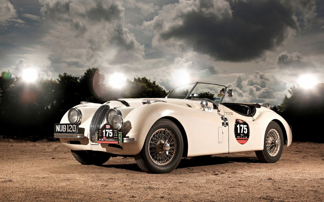 Jaguar Xk 120 Roadster wallpaper