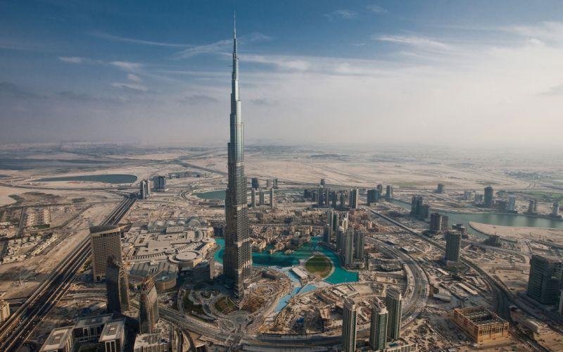 Burj Khalifa Aka Burj Dubai wallpaper