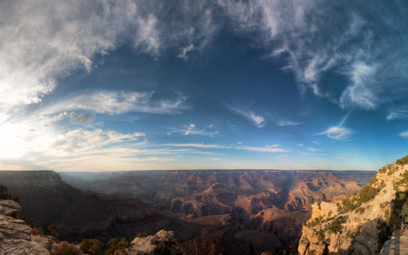 Grand canyon grand view wallpaper