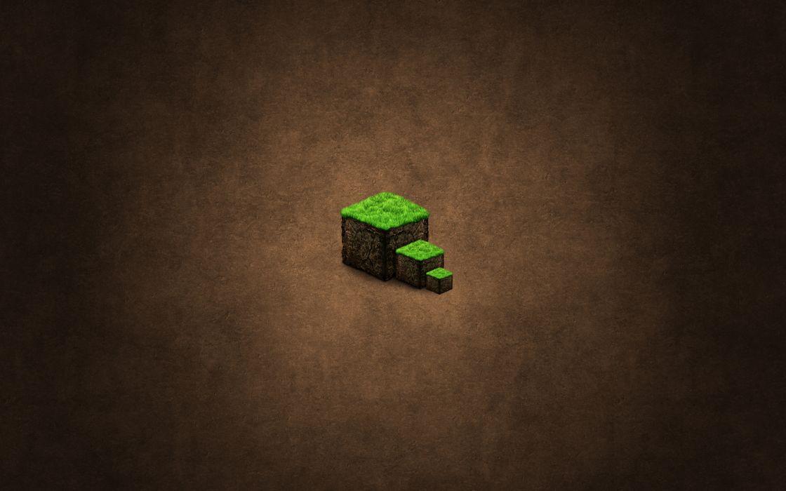 Brown Minecraft wallpaper