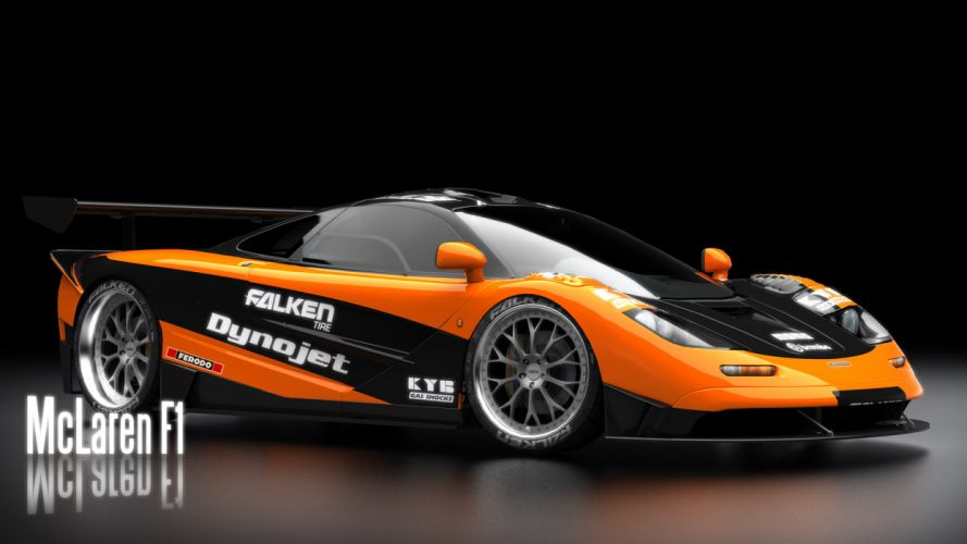 Mclaren F1 Need for Speed Shift wallpaper