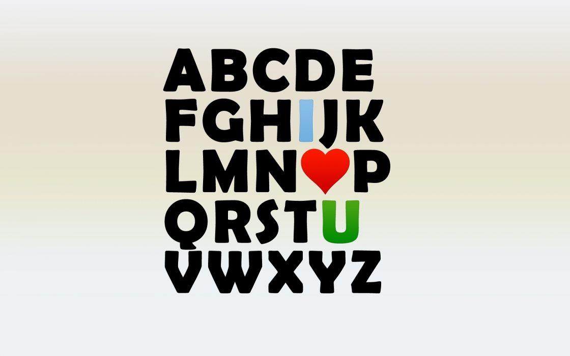 Alphabet Letters wallpaper