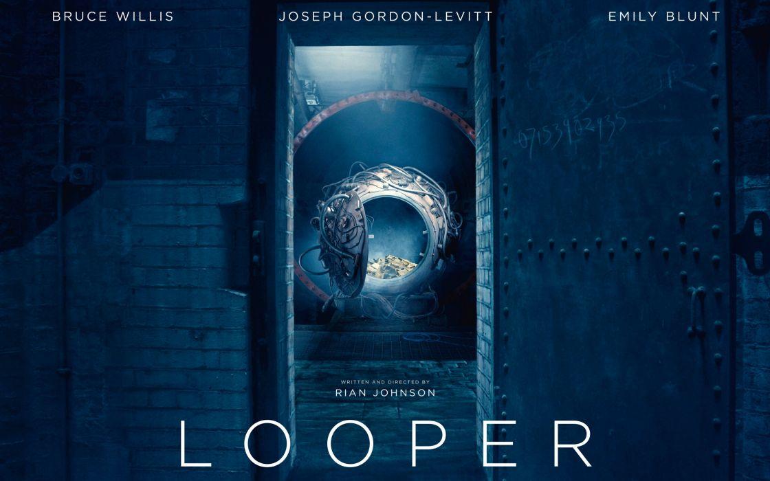 Looper 2012 movie wallpaper
