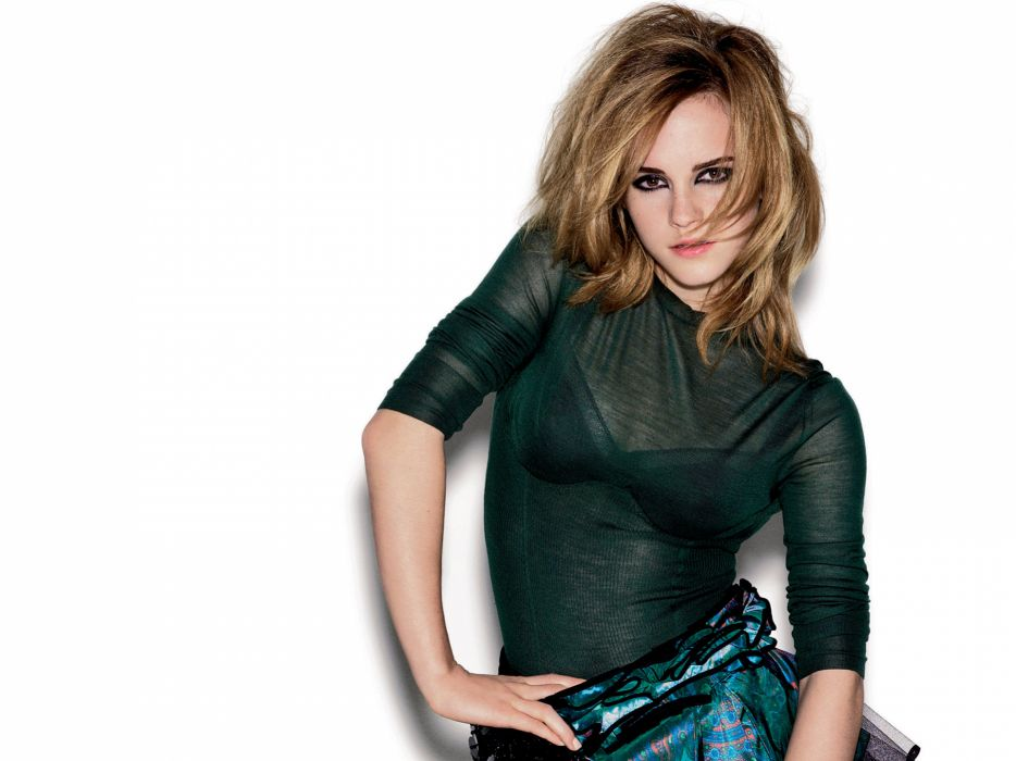Wow Emma Watson Shoot wallpaper