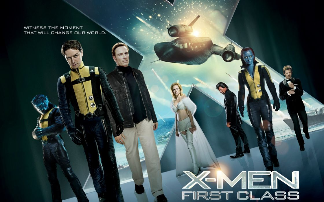 X Men first class 2011 movie wallpaper