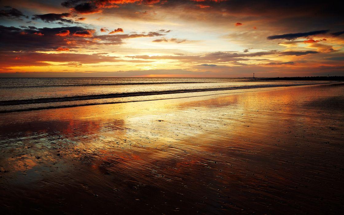 Evening Sunset wallpaper