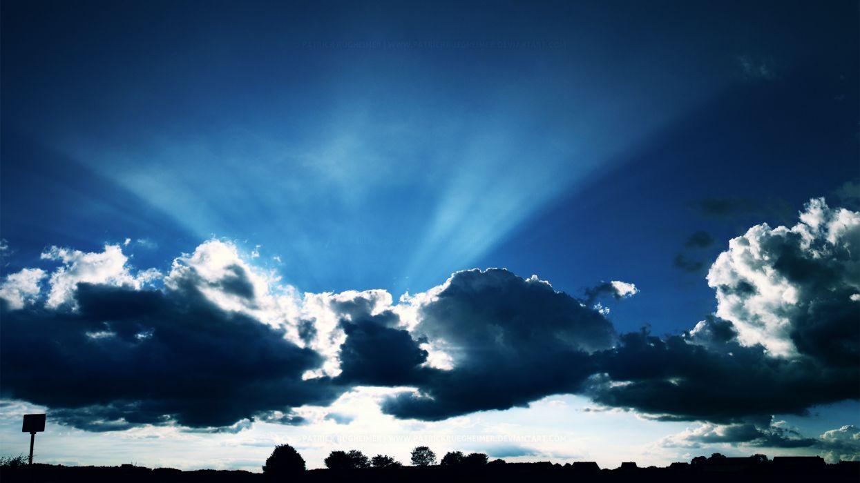 Sky Light wallpaper