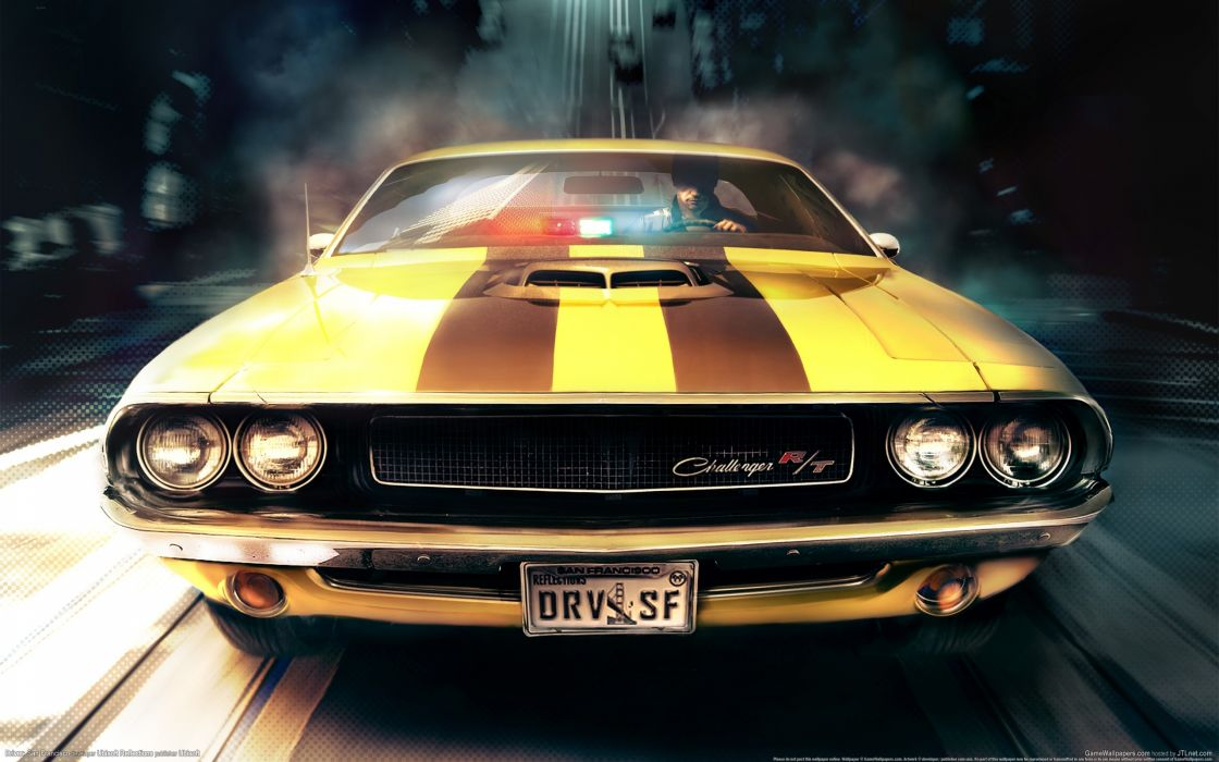 Driver San Francisco challenger wallpaper