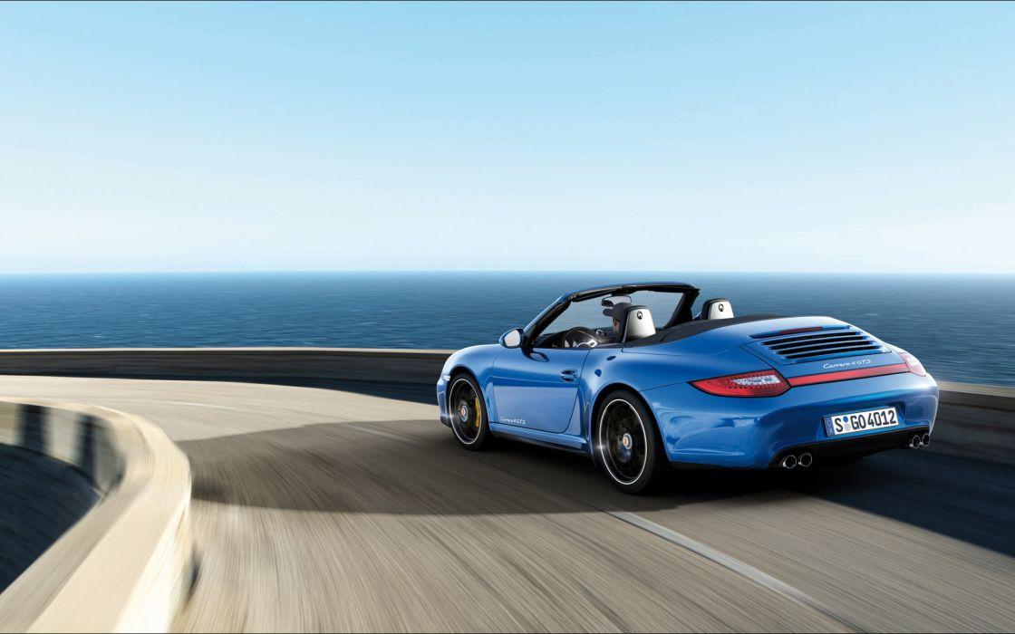 Porsche 911 Carrera 4 Gts Cabriolet wallpaper