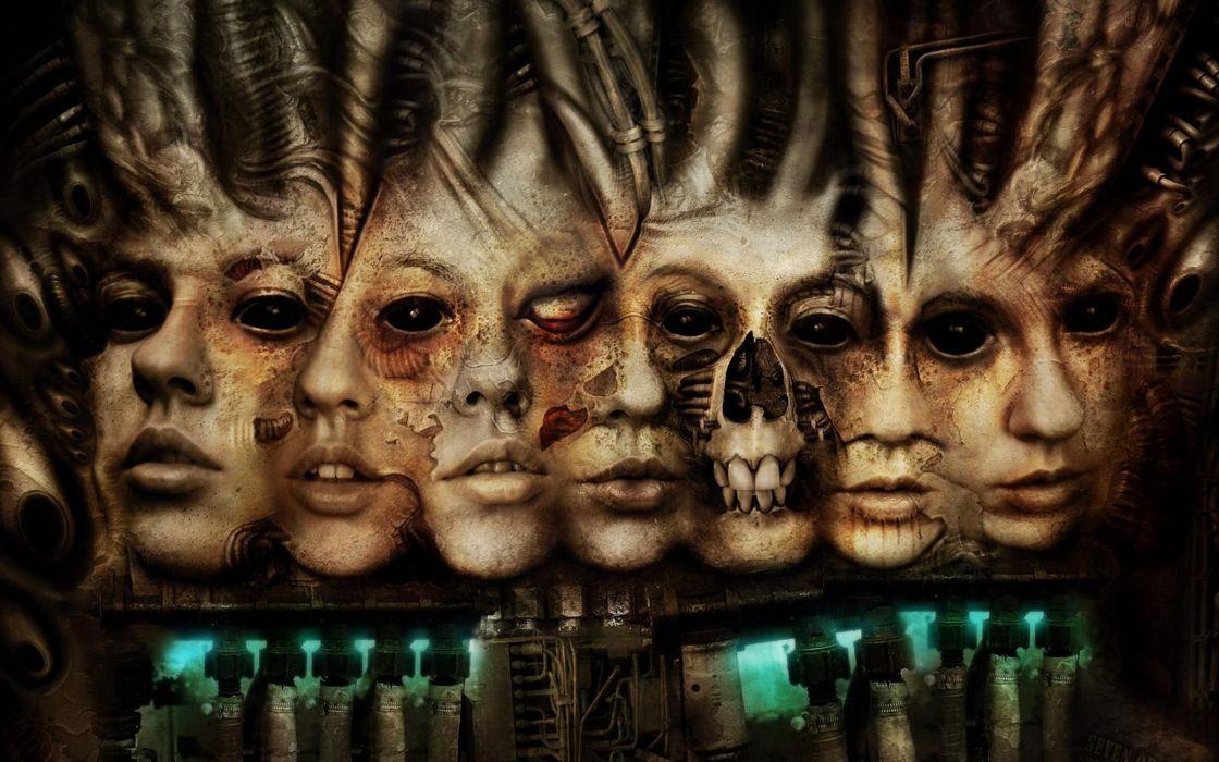 Disfigured Faces wallpaper