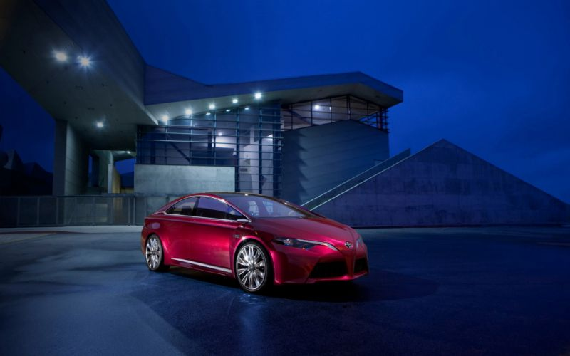 2012 Toyota Ns4 Plug in Hybrid Concept wallpaper