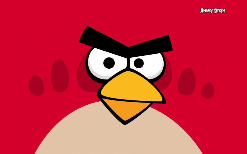 Angry birds red wallpaper