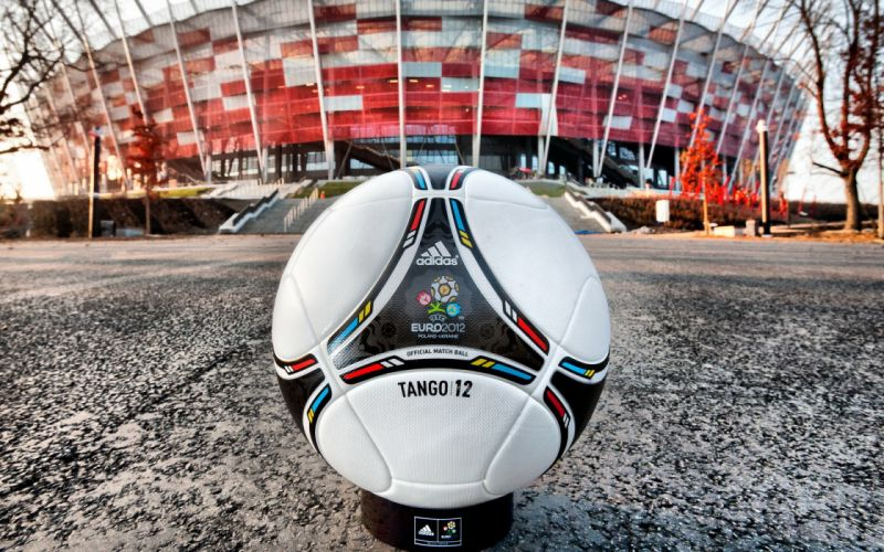 Uefa euro 2012 poland ukraine official ball wallpaper