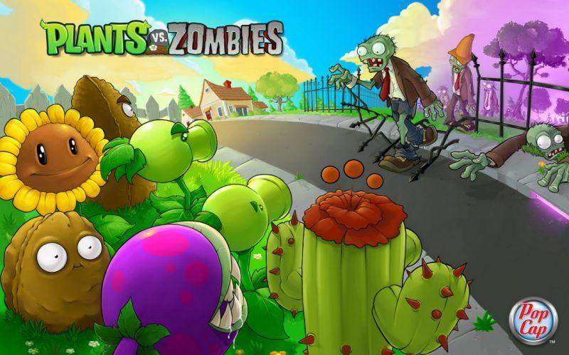 Plants vs_ zombies wallpaper