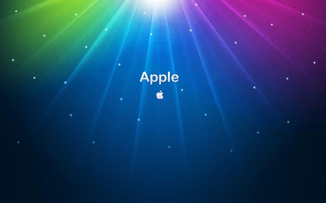 Colorful apple wallpaper