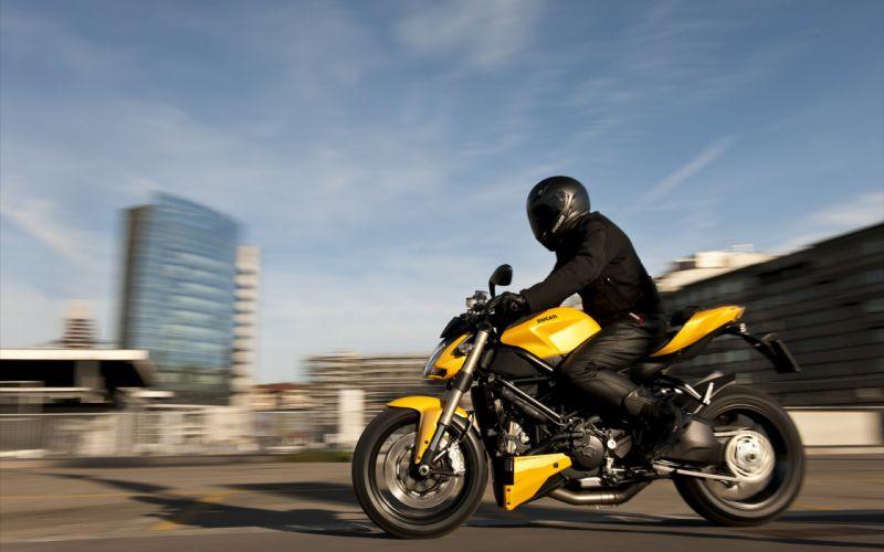 Ducati street fighter 848 yellow wallpaper