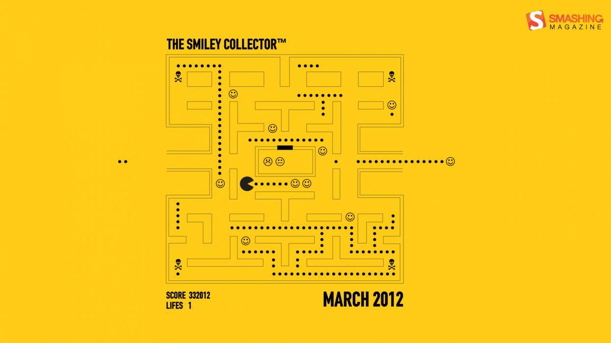 The smiley collector wallpaper