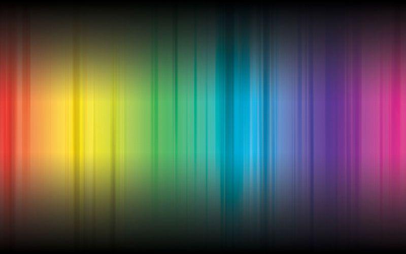 Spectrum of light wallpaper