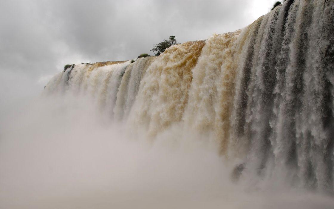 Waterfall iguacu wallpaper