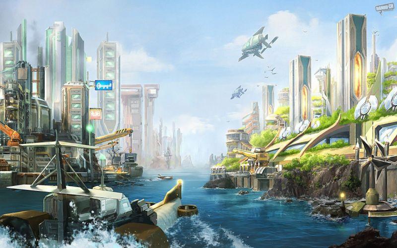 Anno 2070 wallpaper