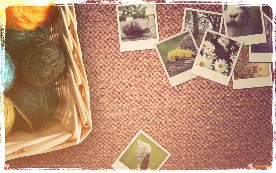 Vintage spring wallpaper