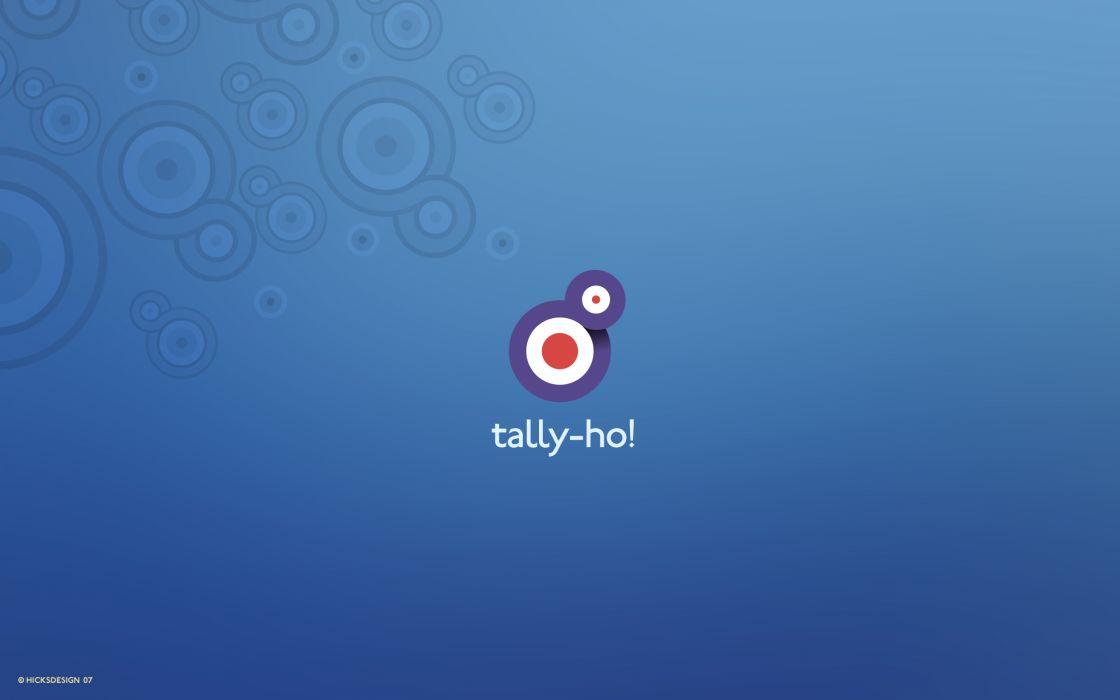 Tally ho! wallpaper