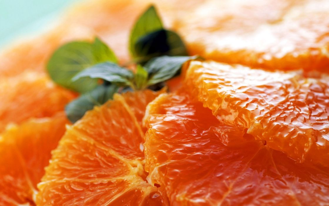 Orange pulp wallpaper