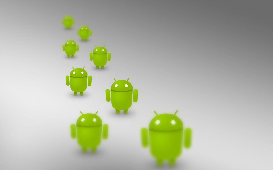 Android droid army wallpaper