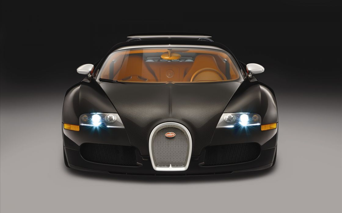 Veyron front view wallpaper