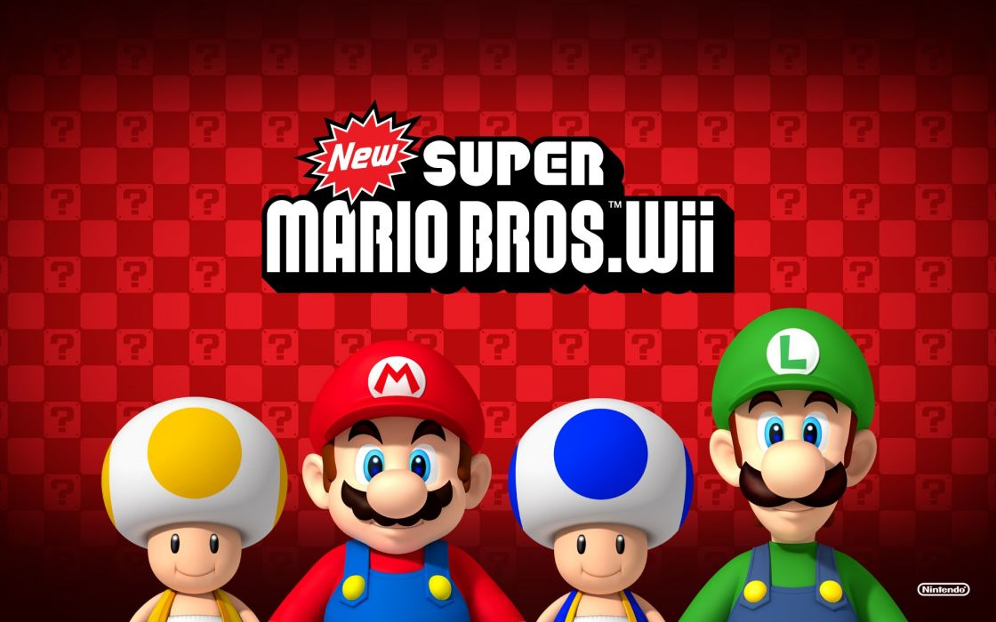 New super mario bros_ wii wallpaper
