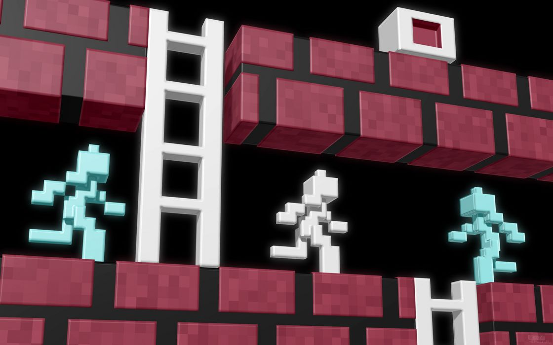 Lode runner wallpaper