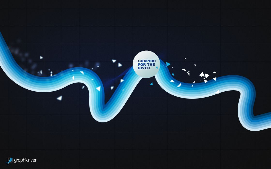 Graphic for the river wallpaper