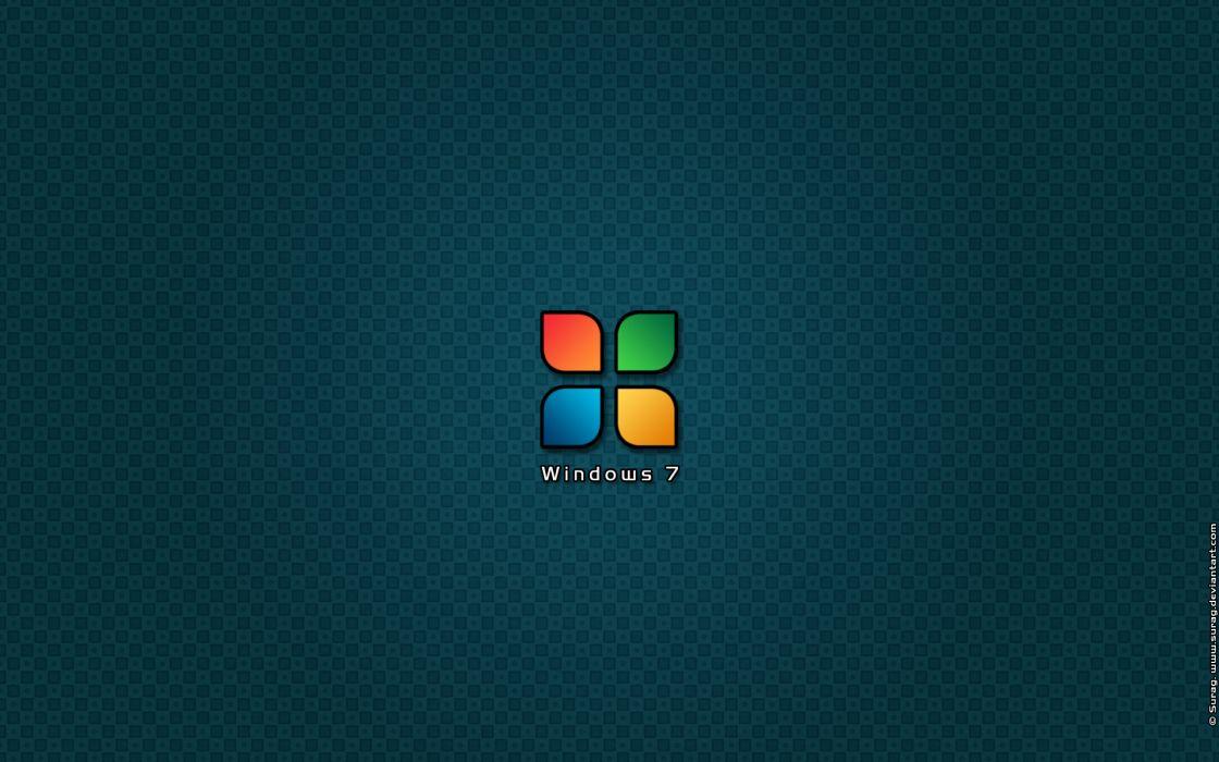 Logo - windows 7 wallpaper