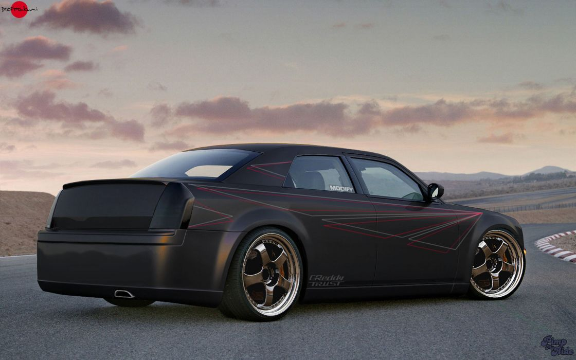 Dodge charger tuning wallpaper