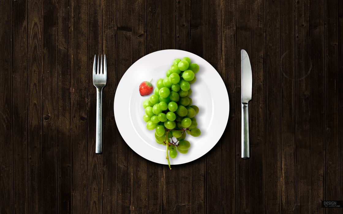 Design lunch wallpaper