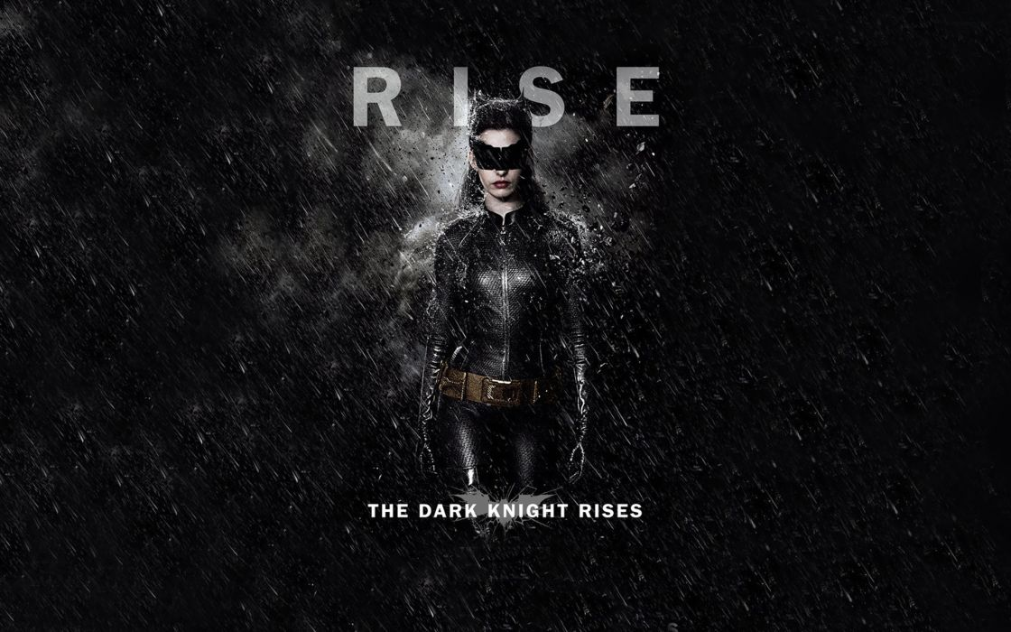 Catwoman the dark knight rises wallpaper
