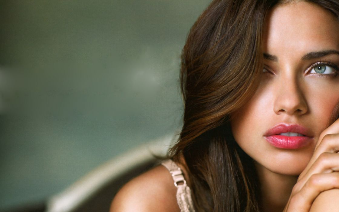 Adriana lima wide screen wallpaper