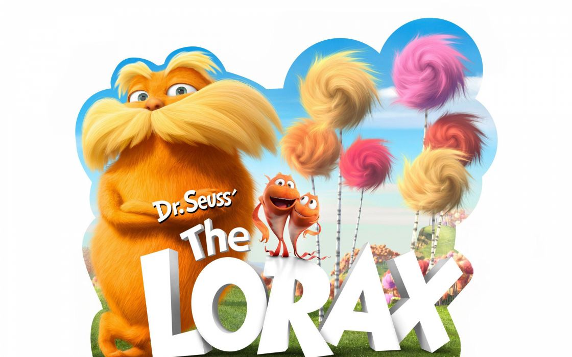 Dr seuss the lorax movie wallpaper