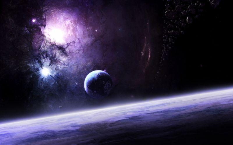 Space power wallpaper