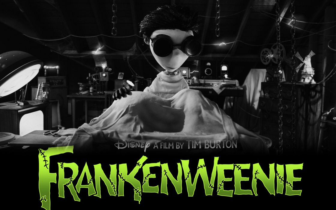 Frankenweenie movie wallpaper