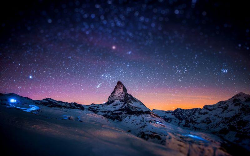 Milky way sky wallpaper