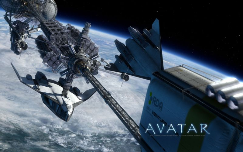 Avatar movie space ships wallpaper