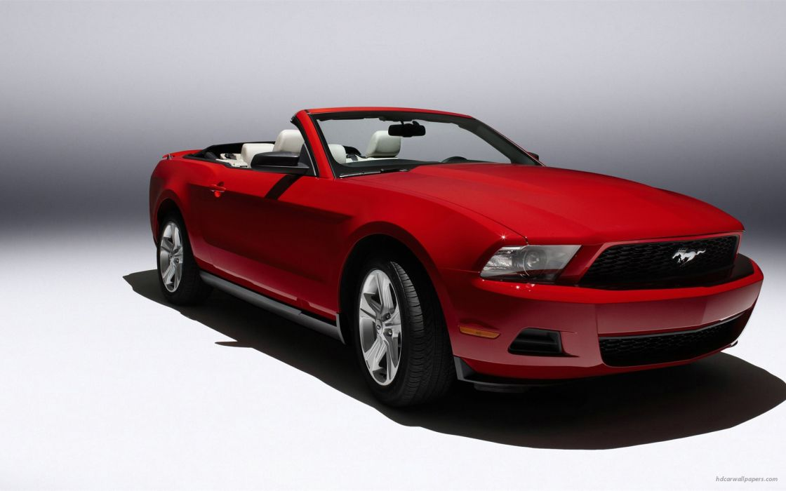 Ford Mustang 2010 Red wallpaper